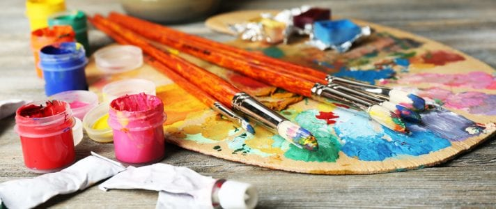 Image of Art materials for the The Sydney Canvas Company