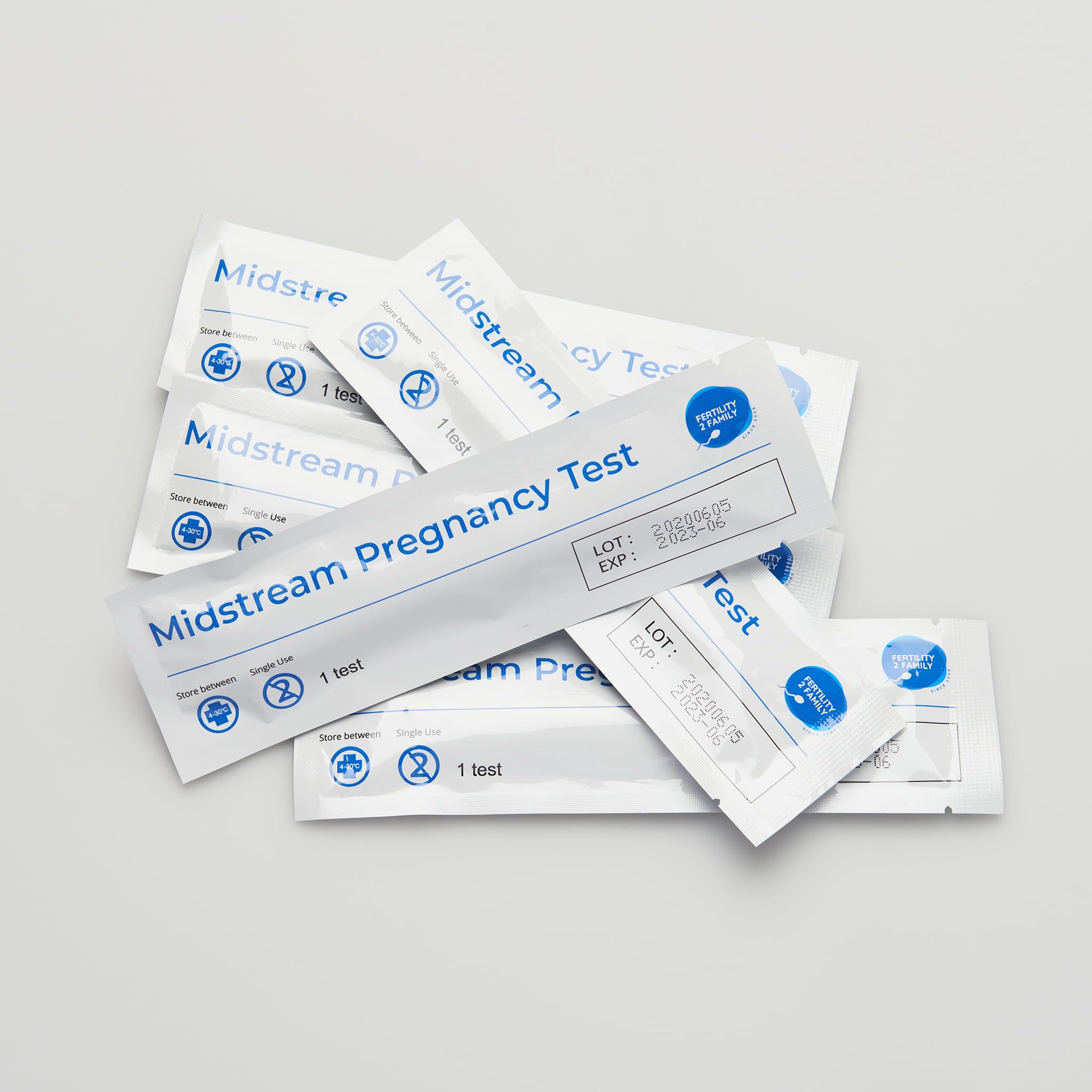 pregnancy tests instructions in our fertility kit